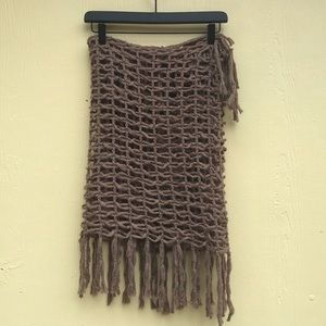 Steve Madden Cage Scarf in Brown